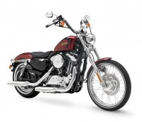 2012, XL1200V, Sportster, Seventy-two, angle front